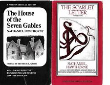 NATHANIEL HAWTHORNE House Of The Seven Gables,Scarlet Letter,Twice-Told Tales +