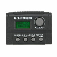 G.T.POWER Professional Servo Tester for RC Aircraft Helicopter Car Servo X6I4