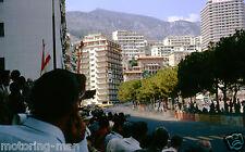 MONACO GRAND PRIX 1963 CROWD ATMOSPHERE START PHOTOGRAPH FOTO