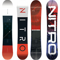 Nitro Team Gullwing Herren Snowboard All Mountain Freestyle | Exposure 2019-2020