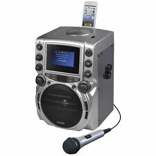 """CDG Karaoke Machine with 4.3"""" Color TFT Screen with Bluetooth"""