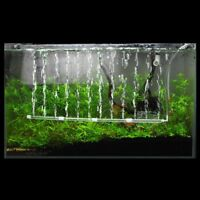 Aerator Aquarium Fish Tank Pump Accessories Mini Air Bubble Stone Tube Oxygen TJ