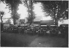 Photo - Stand Voitures PEUGEOT - Années 1920 à Bourbon-Lancy (71)