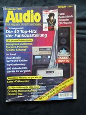 AUDIO 9/95,A.R.E.S. JET PIPE,TEAC R 9,PIONEER CT 440 S,SONY MDS JA3 ES,STEREO