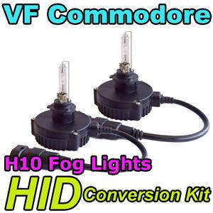 Holden VF Commodore Fog Lights Xenon HID Conversion Kit, H10 6000K SSV & Calais