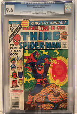 Marvel Two-In-One Annual #2 CGC 9.6 OWP