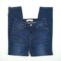 Grae Denim - High Rise Skinny Zip Cuffs Stretch Denim Jeans Women's Size 8 W27
