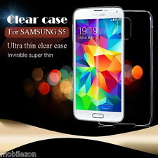 Samsung Galaxy S5 i9600 Back Cover Ultra Thin Transparent Case