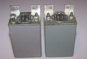 2 vintage Hammond 842 line mic step up input transformers