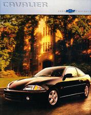 2000 Chevrolet Cavalier and Z24 36-page Original Car Sales Brochure Catalog