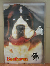 Vintage Beethoven movie poster st. bernard dog   4495