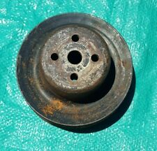 OEM 1968 Ford 302 3 Groove Water Pump Pulley TN