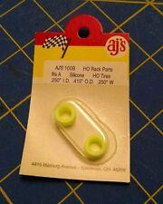 AJ'S 100B Silicone Yellow Tires TYCO HP7 Tomy AFX Turbo Aurora Magnatraction