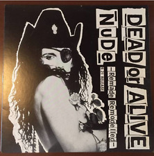 """ULTRA RARE! Dead or Alive/Pete Burns JAPANESE PROMO 12"""" Nude-Remade Remodelled!!"""
