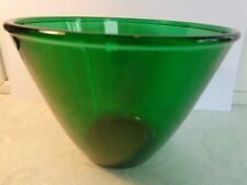 "Anchor Hocking Forest Green #E365 Splashproof Mixing Bowl 5 5/8"" Late 1950s-1967"