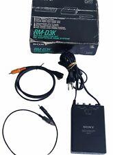 Sony RM-D3K kit Adaptateur/timer Enregistreur Pour Système DAT sony