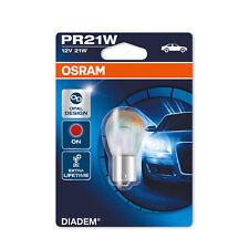 Genuine Osram Diadem PR21W BAW15s 382R 21w Red Rear Fog Signal Bulb 7508LDR-01B