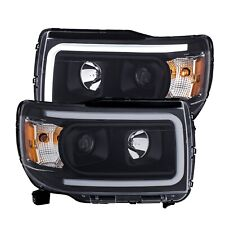 ANZO PROJECTOR HEADLIGHTS PLANK STYLE WAMBER FITS 2015+ GMC CANYON 111381
