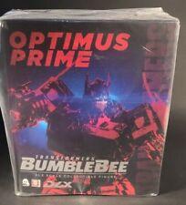 "HASBRO X threeA Toys Transformers Bumblebee Optimus Prime DLX scale 11.2"" Figure"