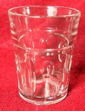 """HEISEY crystal OLD SANDWICH - CLEAR pattern SHOT GLASS - 2-3/8"""" 2-ounces"""