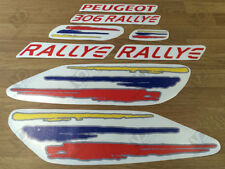 PEUGEOT 306 RALLYE REPRODUCTION DECALS STICKERS (DOORS, WINGS, BONNET, TAILGATE)