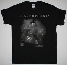 THE WHO QUADROPHENIA 1973 BLACK T SHIRT CREAM THE HIGH NUMBERS THE KINKS