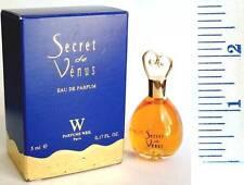 Weil SECRET DE VENUS EDP 5ml/0.17 Box Women Collectible Miniature Hard to Find