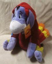 "EEYORE Turkey Costume 20"" Plush Stuffed Toy Disney Winnie the Pooh Thanksgiving"
