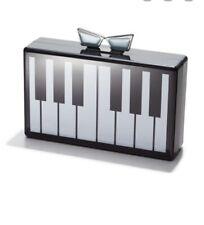 Love Bravery Piano Clutch Lady GAGA Elton John Collab Acrylic Box Purse