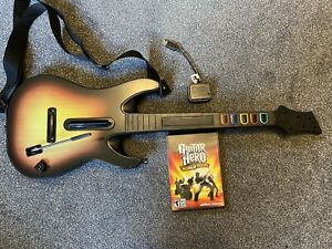 Guitar Hero World Tour Wireless Guitar Controller & Game PC & Mac
