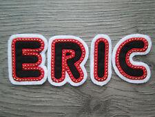 Buchstaben Zahlen # Name Aufbügler Aufnäher Bügel Applikation Patch Schwarz Rot