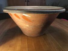 "1850 French Provincial Terra-Cotta ""Tian"" (earthenware) bowl"