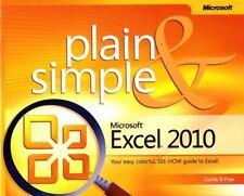 Microsoft Excel 2010 Plain & Simple