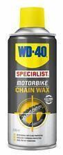 WD-40 Specialist Motorcycle Motorbike Universal O, X & Z PTFE Chain Wax - 200ml