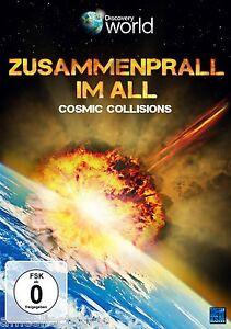 DVD - DISCOVERY WORLD . ZUSAMMENPRALL IM ALL - COSMIC COLLISIONS - NEU/OVP