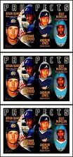 3x TOPPS 1996 BANKS GUERRERO ANDRUW JONES BILLY McMILLON MLB PROSPETS #435 LOT