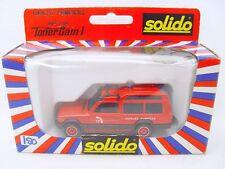 Solido TONERGAM 1:43 SIMCA RANCHO POMPIERS FIRE SERVICE Chief Support Car MIB`80