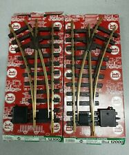 LGB 12000 12100 LEFT & RIGHT HAND MANUAL BRASS SWITCH TRACK SET