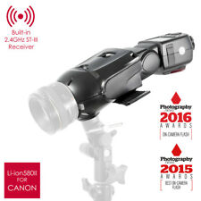 PIXAPRO ® Li-ion580 II TTL Speedlite Luz Blaster Kit Para Canon