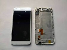 LCD Display + Touch Screen digitizer Huawei Ascend G7 white - black+frame