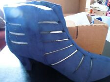 NIB - Comfortview - 12W - Dark Denim Blue - Sloane Bootie - Suede