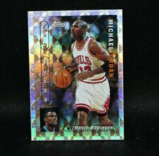 96-97 Topps Basketball Pro Files Michael Jordan #PF-3 Chicago Bulls