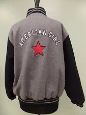 AMERICAN GIRL JACKET COAT RETIRED WOOL BLEND QUILTED LINING SNAP FRONT WOMENS XL