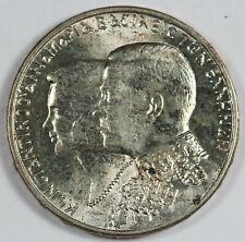 Greece 1964 30 Drachmai Silver Coin UNC/BU 0.3221 Oz ASW Wedding of Constantine
