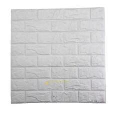 Modern DIY Foam Brick Removable Wall Stickers 3D Wallpaper Home Mural Art Decor