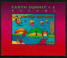 United Nations #708 Mnh S/Sheet - Earth Summit
