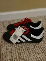 Adidas Goletto VI FG J Boys Youth Soccer Cleats Black Red White Size 1 G26367