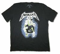 Metallica Electric Chair Black Soft T Shirt New Official Adult