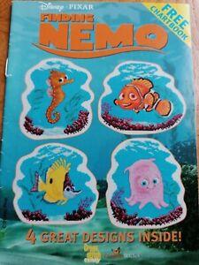 Disney Finding Nemo Cross stitch charts - booklet