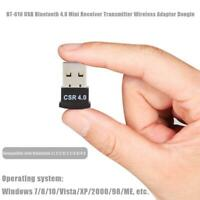 BT-610 USB Bluetooth 4.0 Mini Adapter Wireless Audio Receiver Transmitter Dongle